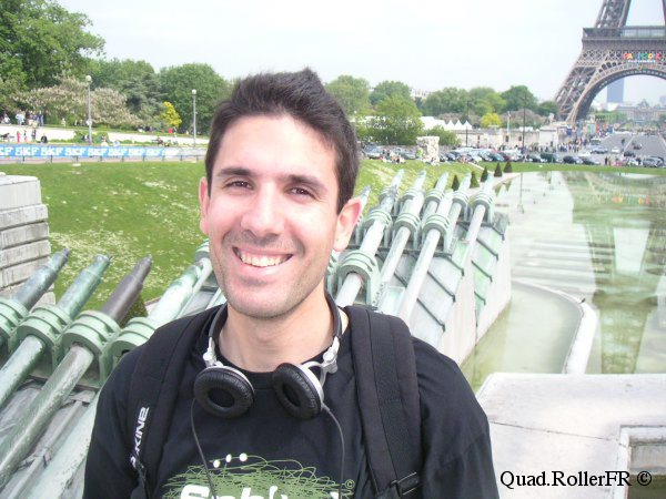 Portrait de Xavier, co-rédacteur de 100% Quad