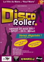 Weekend Disco roller au mans