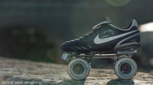 Montées sur des chaussures de football, les Classic K sont redoutables
