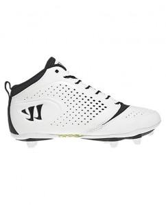 Pour le montage WSG : utilisation d'une chaussure de Lacrosse légère de marque Warrior.