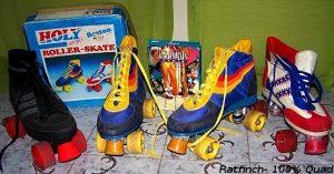 Des patins à l'ancienne