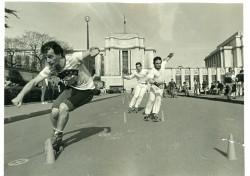 Serge Rodriguez - Slalom au Trocadéro