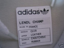 Adidas New Lendl Champ
