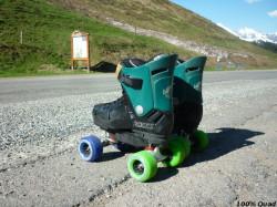 Cales pour rigidifier le patin