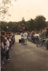 démo reims au Parc Léo 90/91