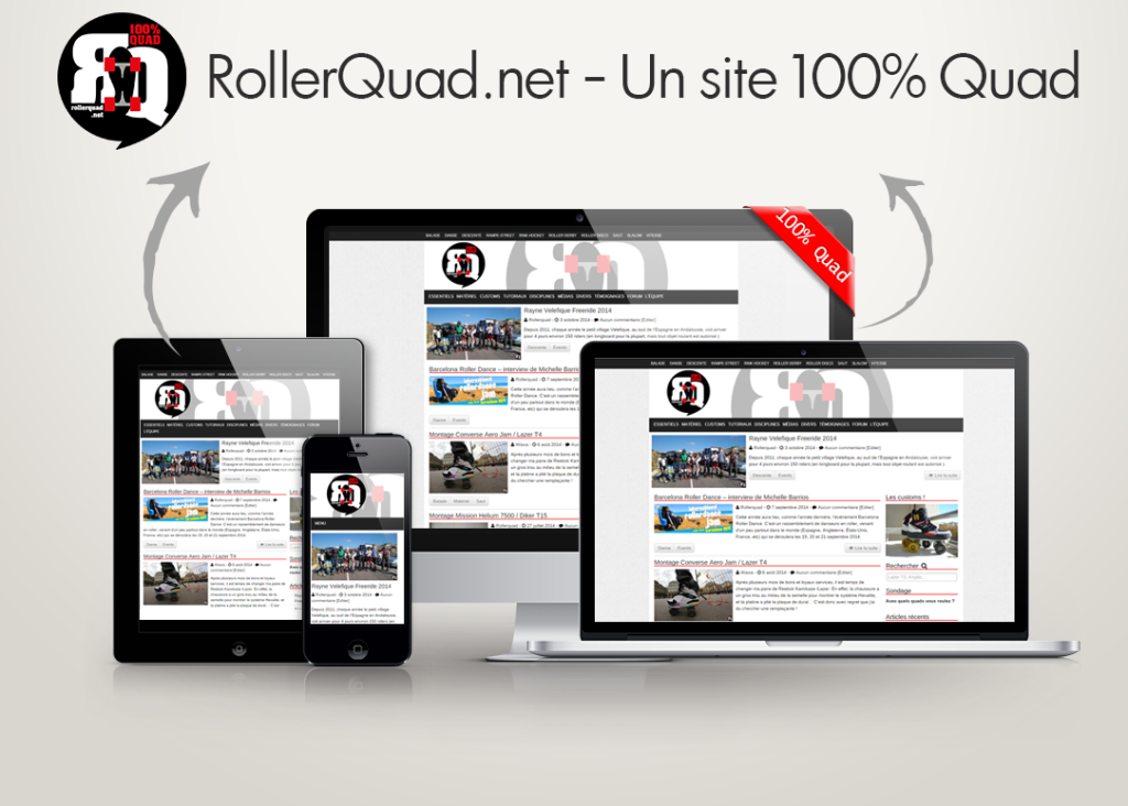 RollerQuad.net a une interface Responsive !